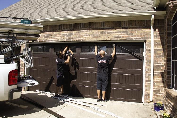 Replacing The Garage Door