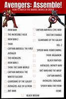 what order to watch all the marvel movies